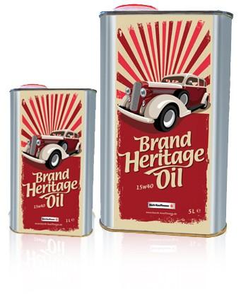 Brand Heritage Oil
